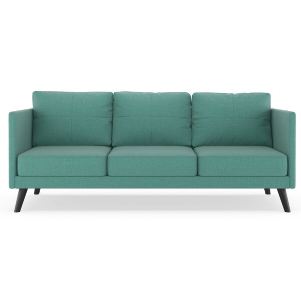 Rodemack Linen Weave Sofa by Brayden Studio
