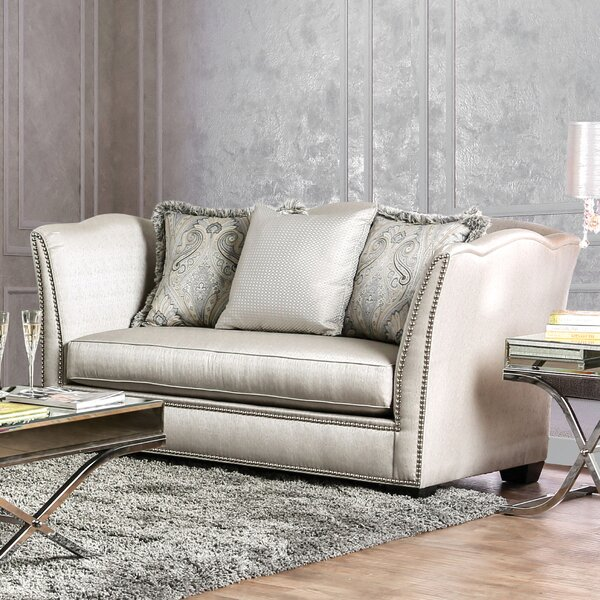 Rialto Transitional Loveseat by Willa Arlo Interiors