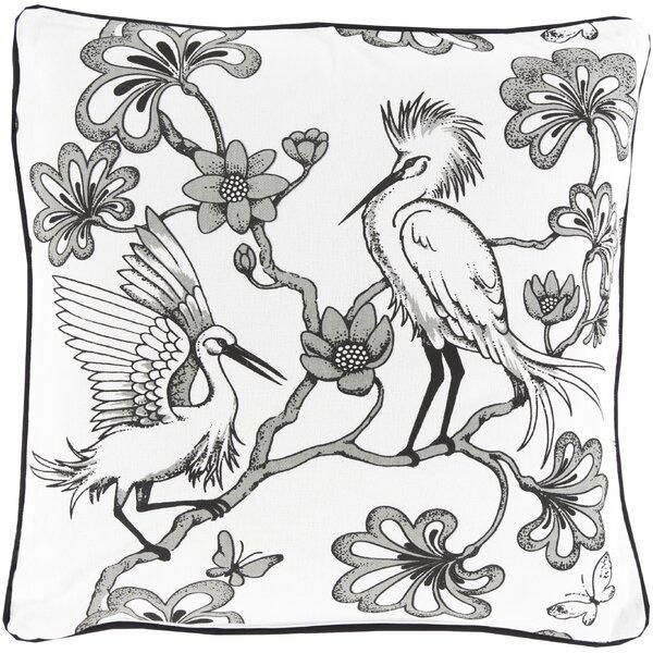 Cherita Cotton Throw Pillow by World Menagerie