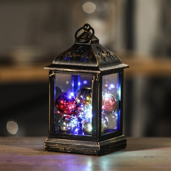 Ornaments LED String Light Square Lantern Lamp by The Holiday Aisle