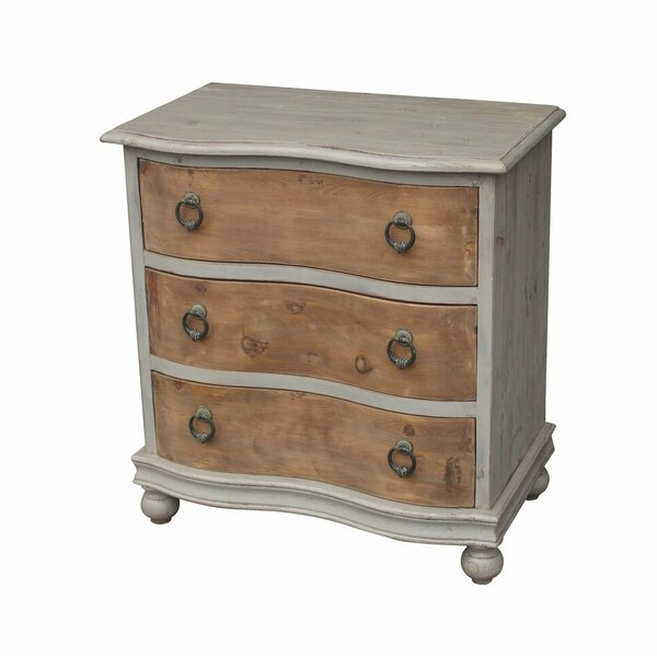 Calista 3 Drawer Chest by One Allium Way