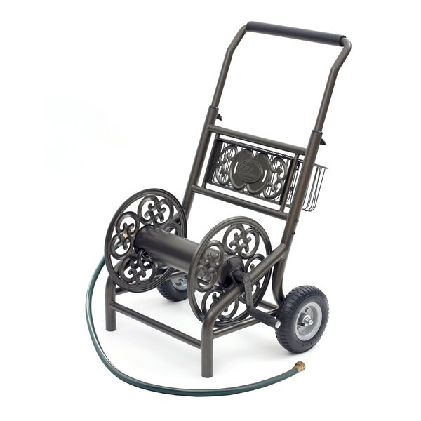 Steel Hose Reel Cart by Liberty Products