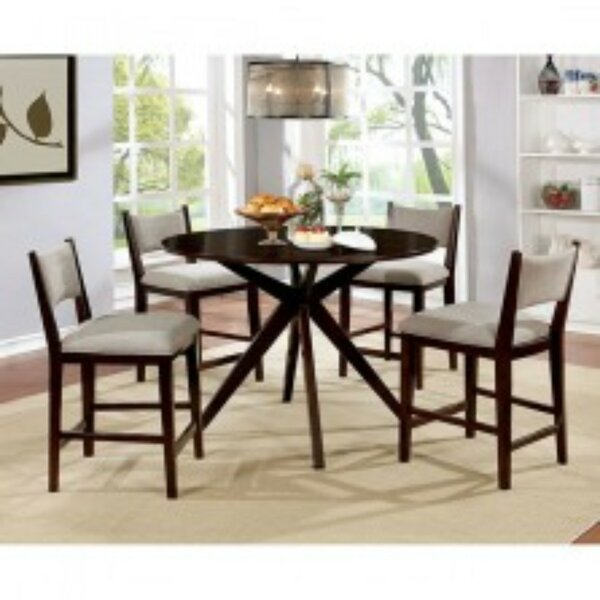 Mohr 5 Piece Pub Table Set by Winston Porter