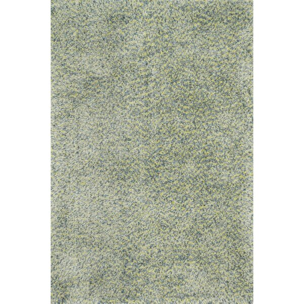 Hackel Hand-Tufted Teal Area Rug by Red Barrel Studio