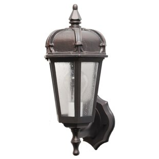Compare Flannigan 1-Light Outdoor Sconce By Charlton Home