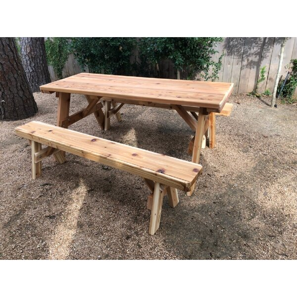 Islais 3 Pieces Dining Set by Millwood Pines