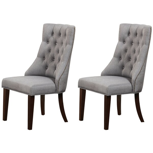 Carrera Side Chair (Set of 2) by Charlton Home