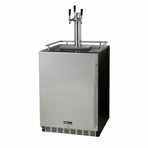 Triple Tap Full Size Beer Dispenser by Kegco