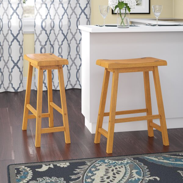 Bates 24 Bar Stool (Set of 2) by Andover Mills