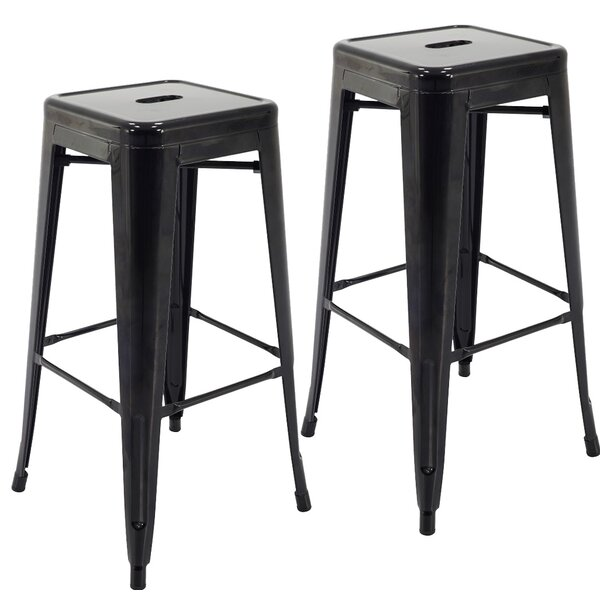 Norton St Philip 30.3 Bar Stool (Set of 2) by Ebern Designs