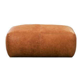 Ashley Leather Pouf