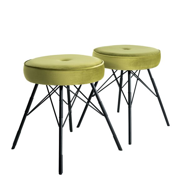 Allis Accent Stool (Set of 2) by Mercury Row