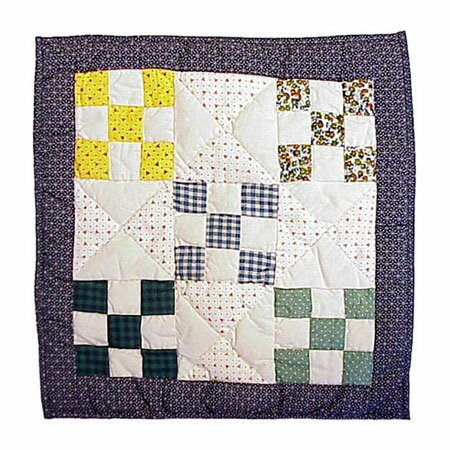 Country Vine Cotton Throw Pillow by Patch Magic