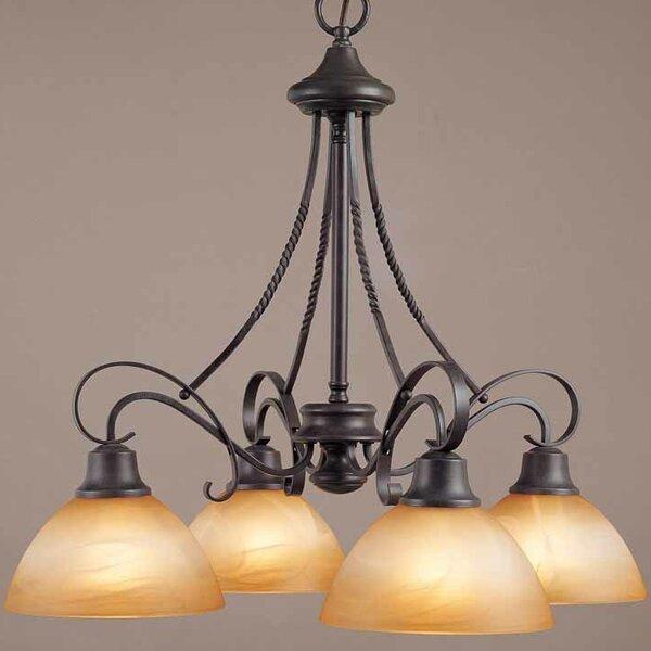 Altamonte 4 - Light Shaded Classic / Traditional Chandelier by Volume Lighting Volume Lighting