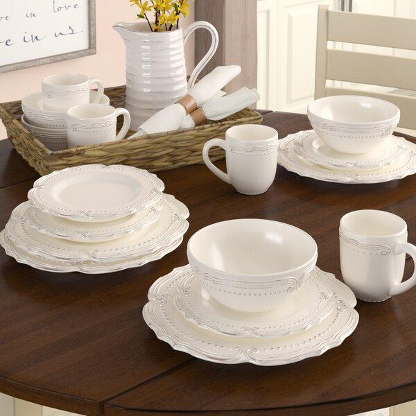 Prescott 16-Piece Dinnerware Set, Service for 4 by