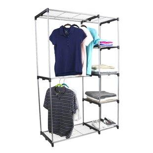 Best Deals Free-Standing 45.27W Closet System By Sunbeam