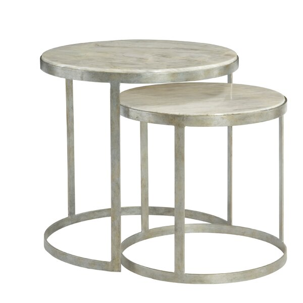 Tiffin 2 Piece Nesting Tables By Bernhardt