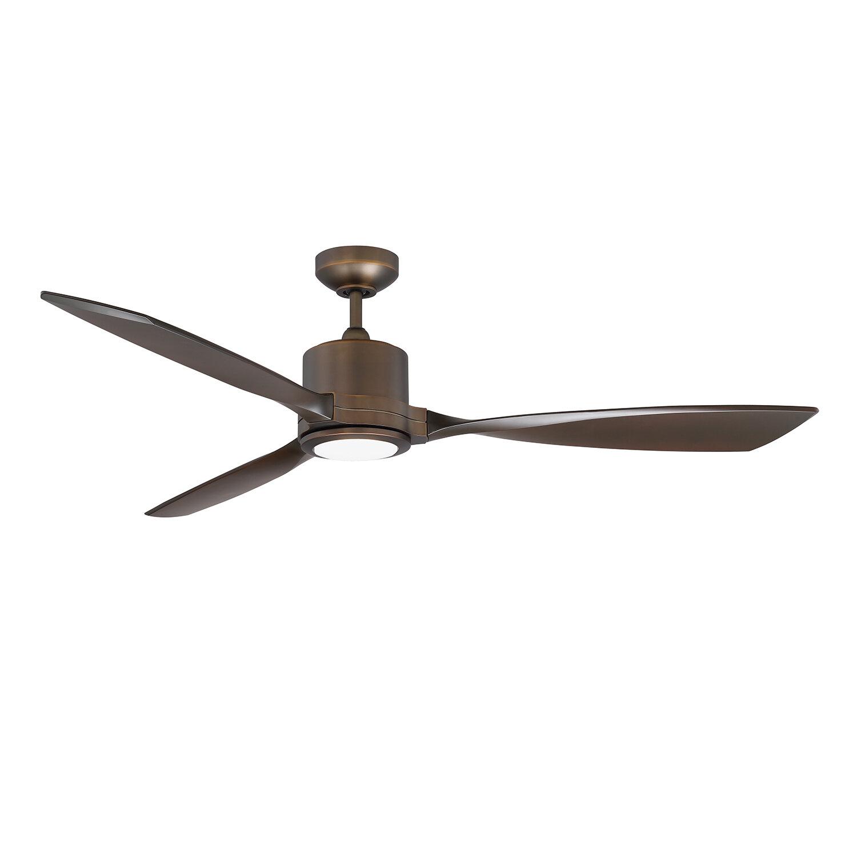 60 Boylston 3 Blade Led Ceiling Fan