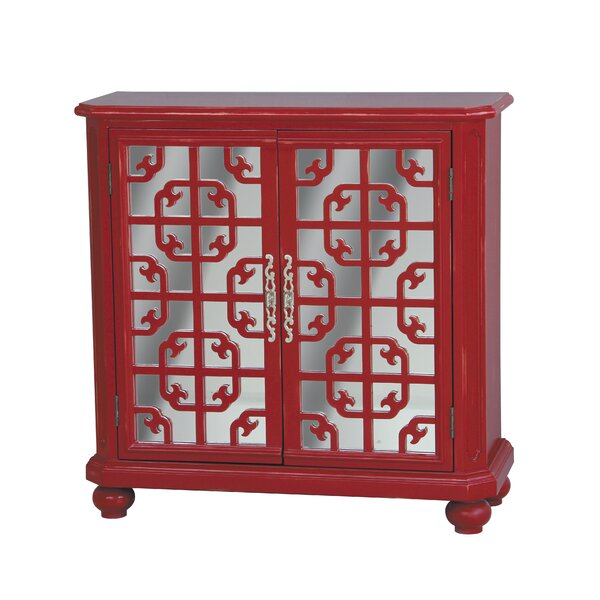 Bowerling Hill 2 Door Accent Cabinet by World Menagerie World Menagerie