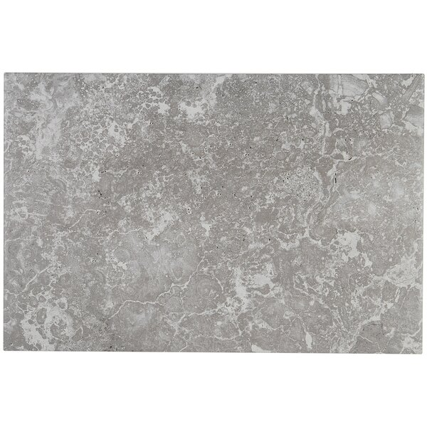 Newry 12 x 18 Ceramic Field Tile in Silverstone by Itona Tile