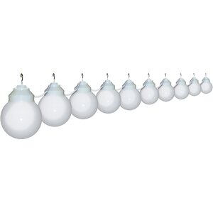 10-Light Globe String Lights
