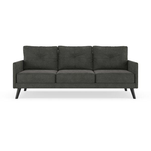 Cowling Micro Suede Sofa by Corrigan Studio