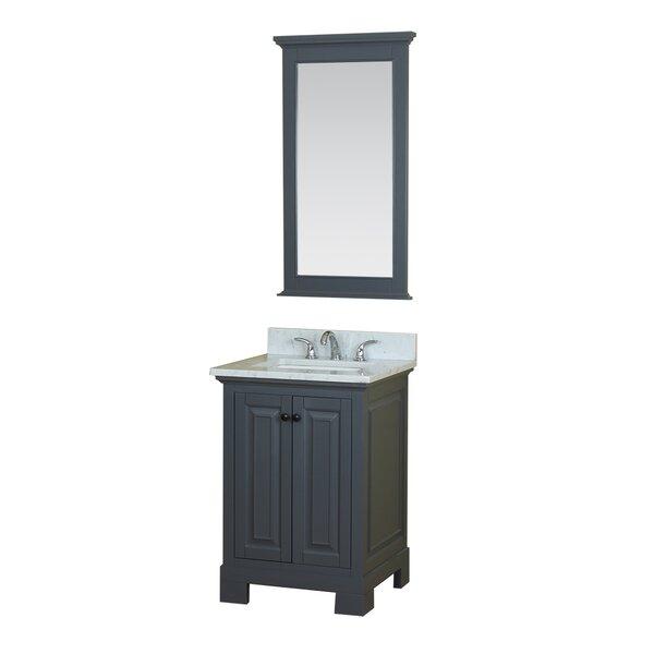 Cothern 24 Single Bathroom Vanity Set with Mirror by Red Barrel Studio