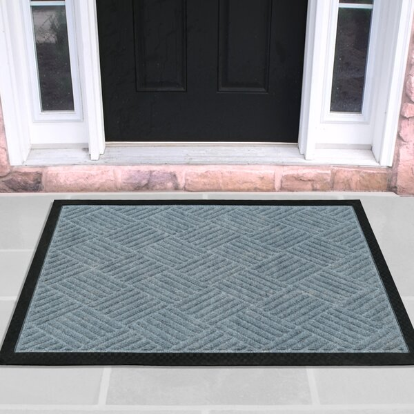 Carpeted Rubber Outdoor Doormat by Ottomanson