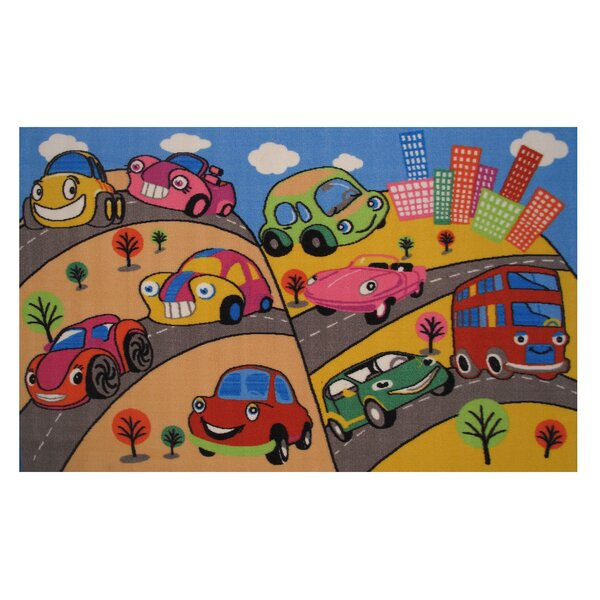 Fun Time Fun Cars Kids Rug by Fun Rugs