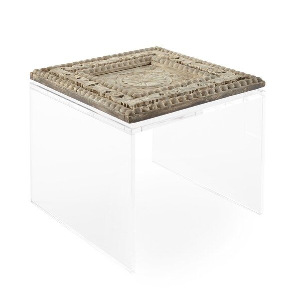 Baker Wood Panel Coffee Table by Square Feathers