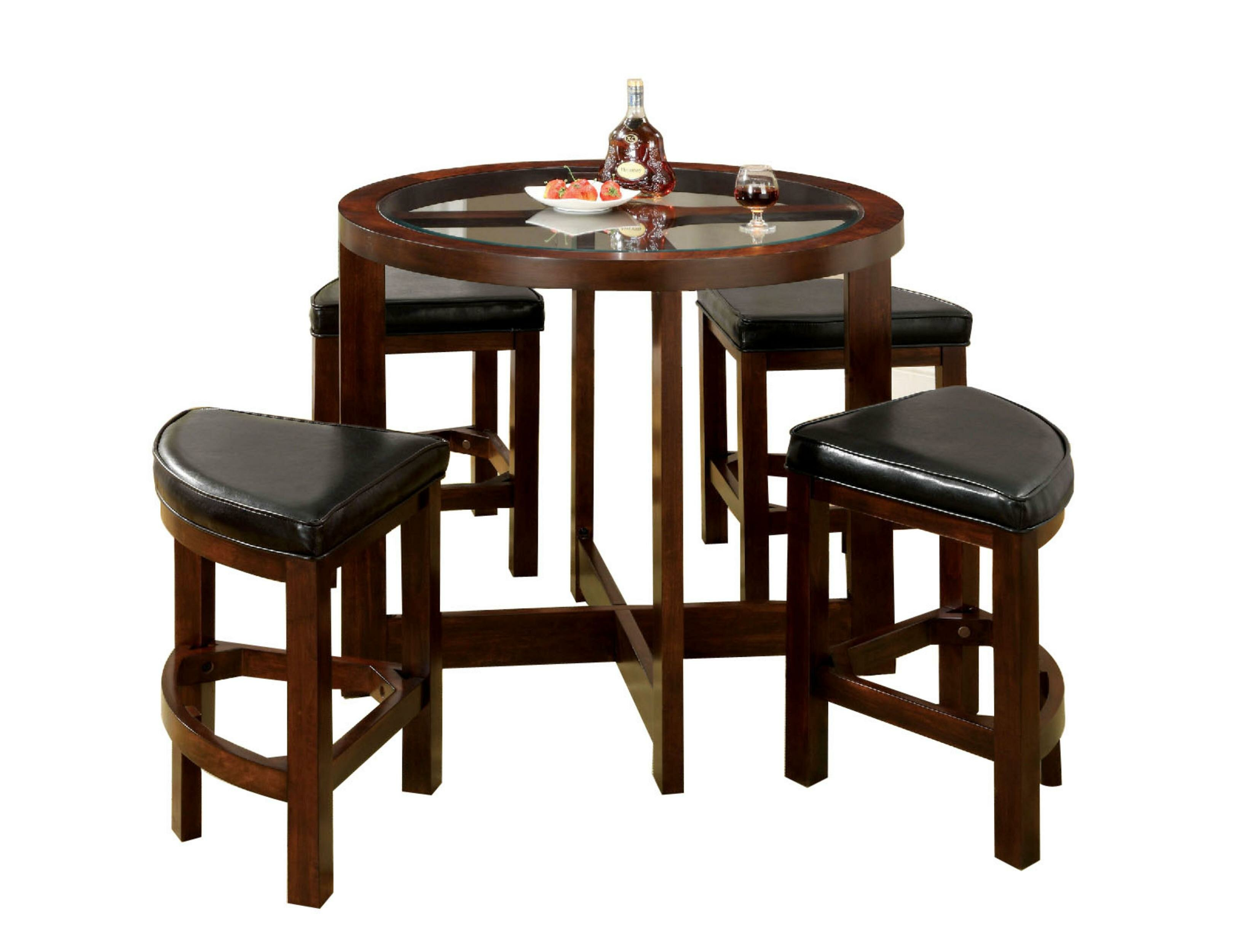 5 Piece Counter Height Dining Table Set