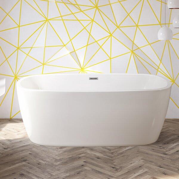 59 x 28.3 Freestanding Soaking Bathtub by Wildon Home ®