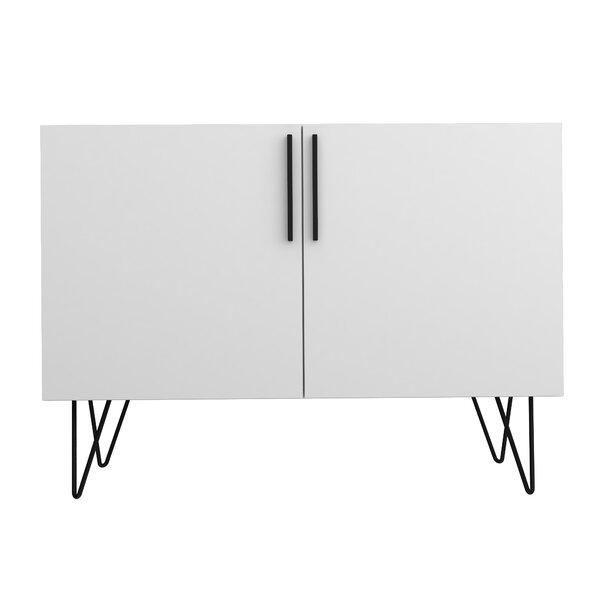 Kenosha Mid Century Modern 2 Door Accent Cabinet by Wrought Studio Wrought Studio