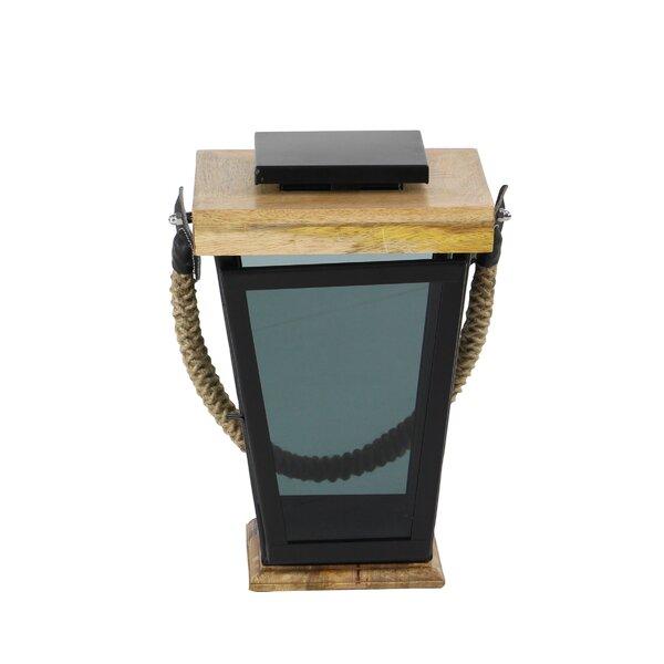 Modern Wood Lantern by Union Rustic