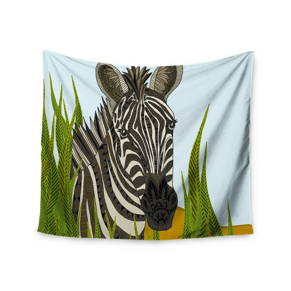 Zebra by Art Love Passion Wall Tapestry by East Urban Home