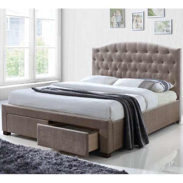 Mccormack Upholstered Storage Platform Bed by Alcott Hill