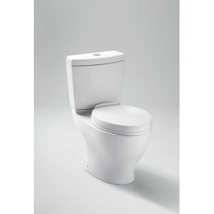 Aquia Dual-Flush Elongated Two-Piece Toilet (Seat Not Included)