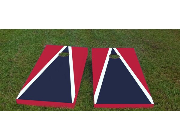 Patriots Cornhole Game (Set of 2) by Custom Cornhole Boards