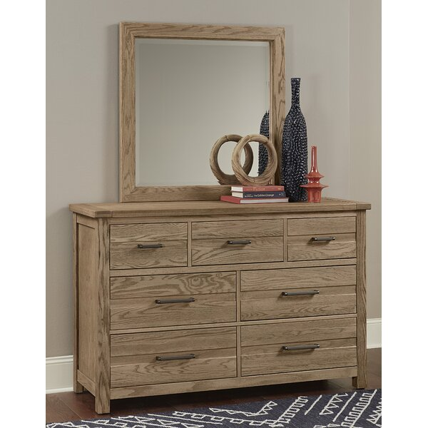 7 Drawer Dresser With Mirror By Vaughan-Bassett by Vaughan-Bassett Great Reviews