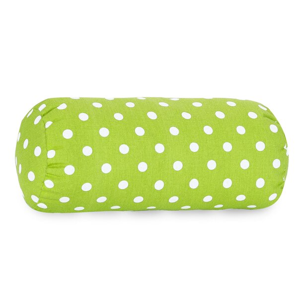 Roper Round Cotton Bolster Pillow by Harriet Bee