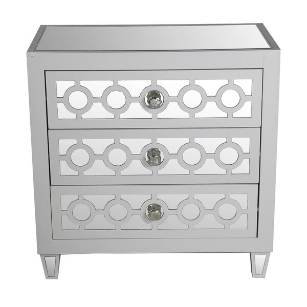 Kazan 3 Drawer Accent Chest by House of Hampton