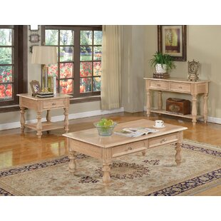 Great Price Shantoria 3 Piece Coffee Table Set by A&J Homes Studio