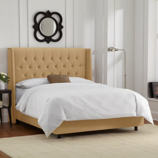 Florine Upholstered Standard Bed by Willa Arlo Interiors