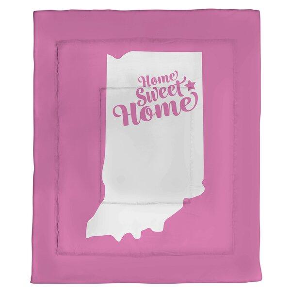 Home Sweet Fort Wayne Single Reversible Comforter