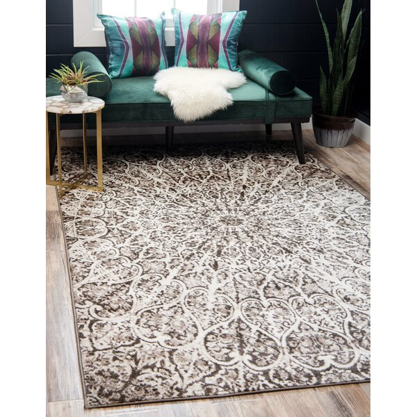 Keswick Brown Area Rug by World Menagerie