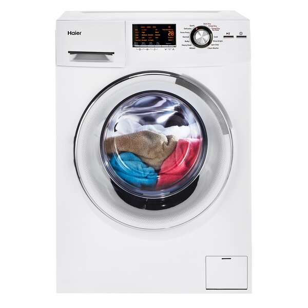 2.0 cu. ft. Front Load Washer and Electric Dryer by Haier