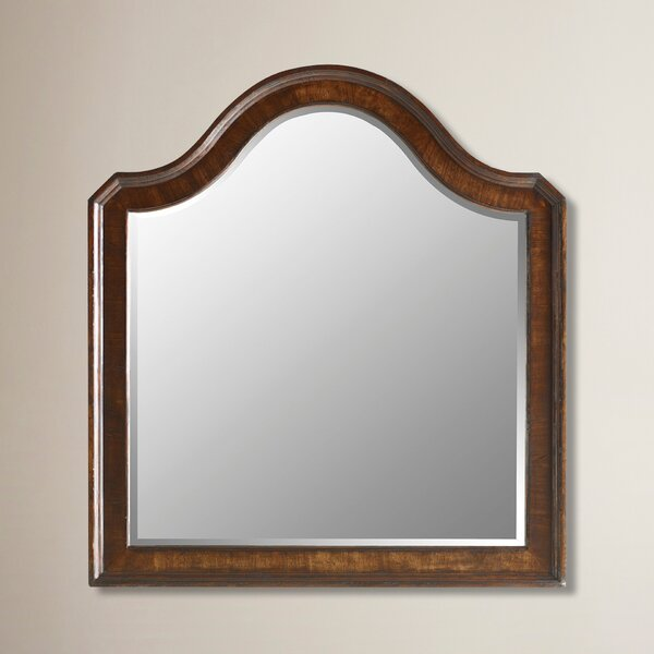 Deerfield Continental Landscape Mirror by Canora Grey