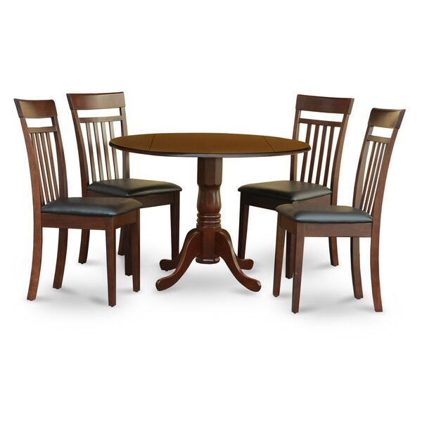 Spruill 5 Piece Dining Set By August Grove Discount