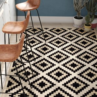Reviews Amoll Ivory/Black Area Rug ByTrent Austin Design