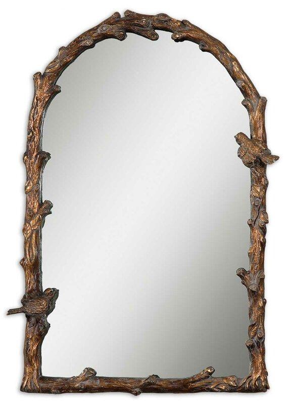 Eliana Arch Gold Wall Mirror